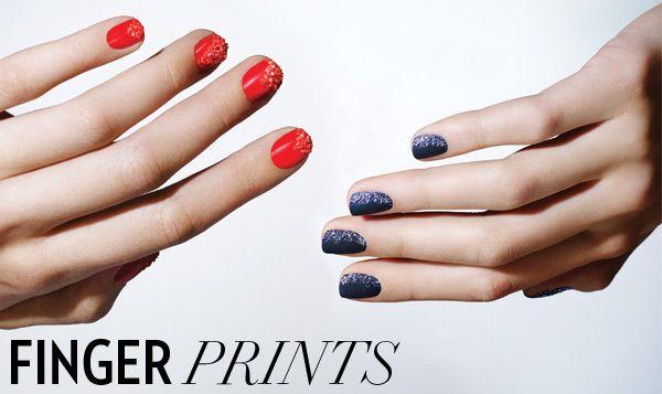 Tom Bachik manicure nail art