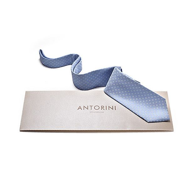 Italian Silk Tie in Navy
