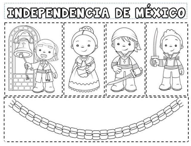 Tu Tarea Independecia De Mexico Manualidades 15 De Septiembre Para Ninos Septiembre Preescolar Ninos Heroes De Chapultepec