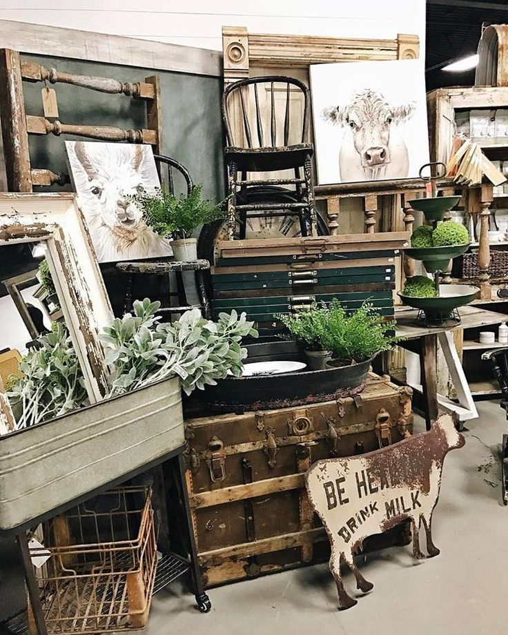 714d934a1 The Found Cottage Vendors | Rustic & Farmhouse furniture & decor | The  found cottage, Antique booth displays, Antique booth ideas
