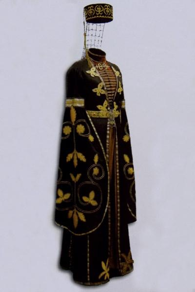 Circassian woman costume