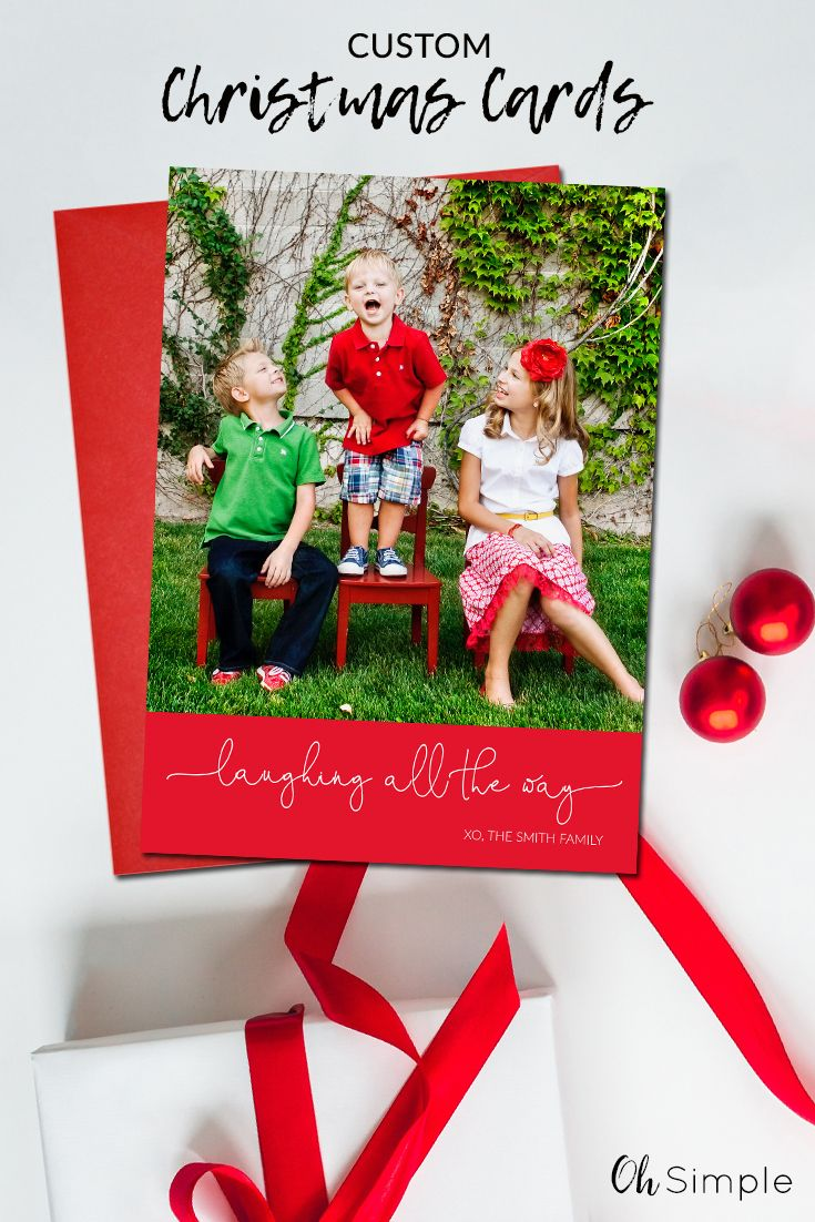 Photo Christmas Cards Modern Holiday Cards Simple Christmas Etsy Cute Christmas Cards Christmas Photo Cards Personalised Christmas Cards