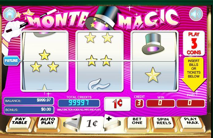 Discover Gambling Secrets How You Can Win Cash & Bitcoin Magically Playing Monte Magic Slots Online. Las Vegas Casino Slot Games Reviews.
