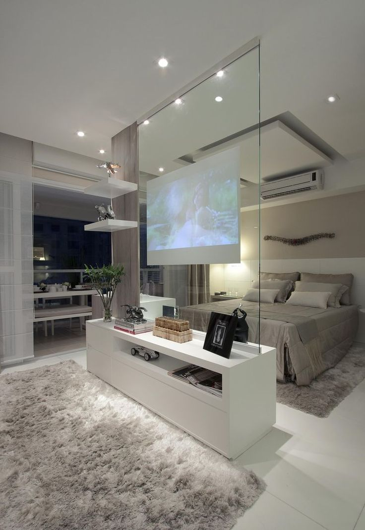 beautiful glam gray bed room for the main bedroom Superior projector within the vault…
