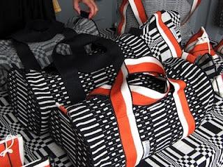 Tube bags, Johanna Gullichsen, http://www.johannagullichsen.com , Photographer Taina Tervonen