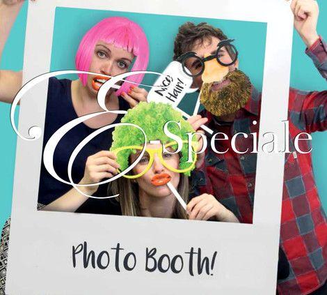 Cornice Photobooth Polaroid con Accessori - Prodotti per Ganzate - accessori e gadget per matrimoni e feste - E-speciale