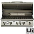 """Items for our outdoor kitchen  Urban Island Stainless Steel 38"""" Drop-in 5-burner Grill by Bull Outdoor Products"""