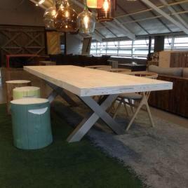 Spisestuebord. Pooltable, drivved.no 2