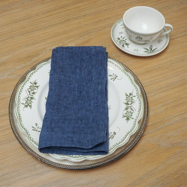 Fiji Linen Napkins In 2020 Linen Linen Napkins Oil Wash