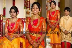 Maruthi Daughter Half Saree Ceremony