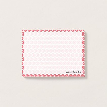 Flag of Turkey Emojis Post-it Notes - create your own gifts personalize cyo custom