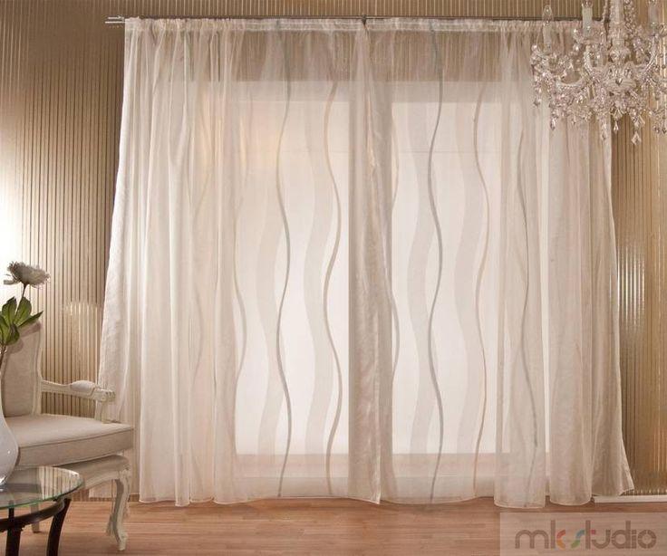 #wnętrze #salon #dekoracje #dekoracjeokien #interior #wnetrza #zasłony #firany #okno #okna   #curtains #window #biały #biel #white >> http://www.mkstudio.waw.pl/inspiracje/