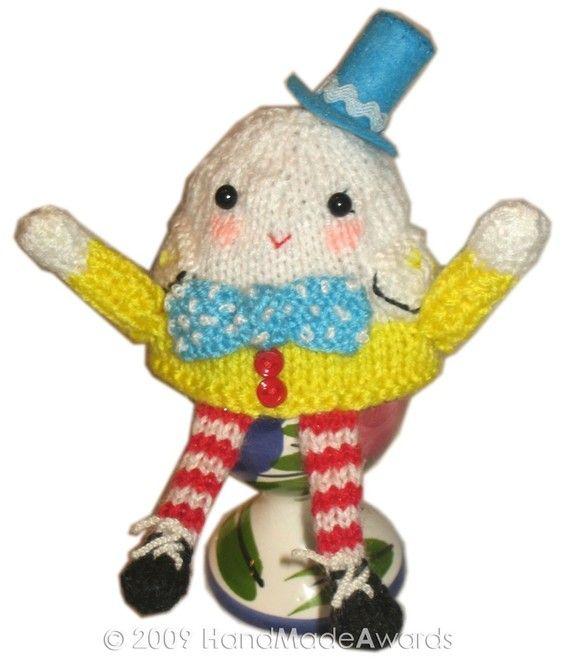 Free Humpty Dumpty Knitting Pattern : 8 best images about Crochet egg cozies on Pinterest English, Knit patterns ...