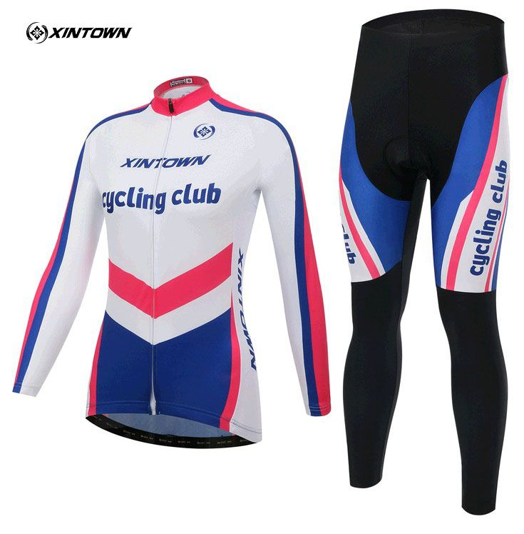==> [Free Shipping] Buy Best Top Quality Women Girl Long Spring Cycling clothing Cycling wear Cycling jersey sleeve kit Suite MTB Ciclismo Bicycle 14 Online with LOWEST Price | 32579019790