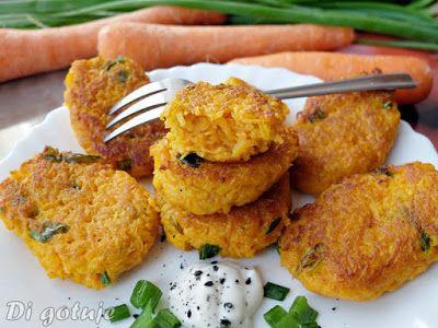 Di gotuje: Podlaskie racuchy z marchewki (wytrawne)