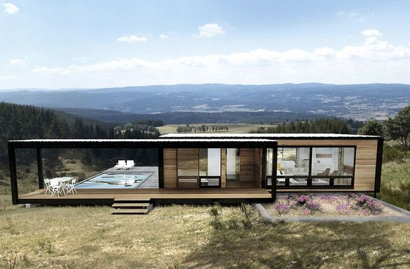 Gorgeous Sustainable Pre-Fab Houses that fit in a shipping container | Co.Exist: World changing ideas and innovation