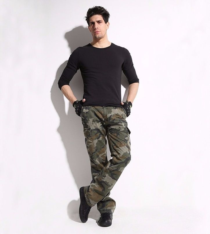 52.25$  Watch here - http://ali7fm.shopchina.info/1/go.php?t=32543918209 - High quality Men Tactical pants 2015 new arrival hunting Camouflage military army cargo pants combat multicam militar trousers  #aliexpressideas