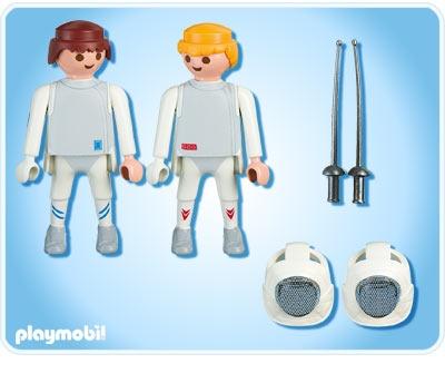 Esgrima+Playmobil!!!