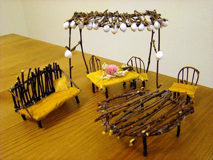 Fairy Furniture By ~Lostfiniel