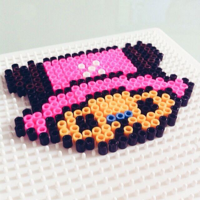 Tony Tony Chopper! First product made with Ikea's perler beads.
