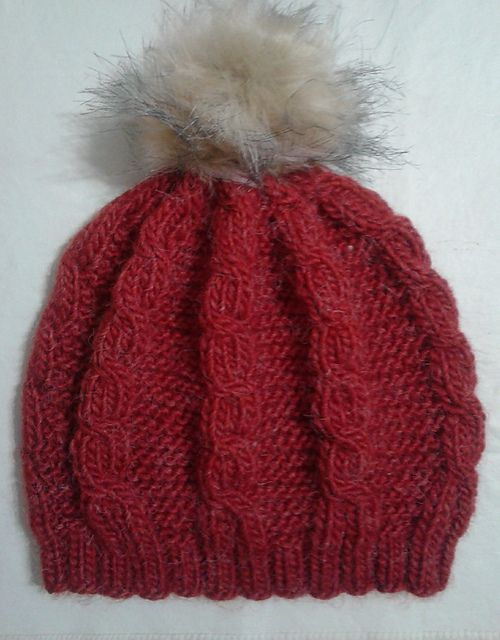 Ravelry: veronicamo's red cables