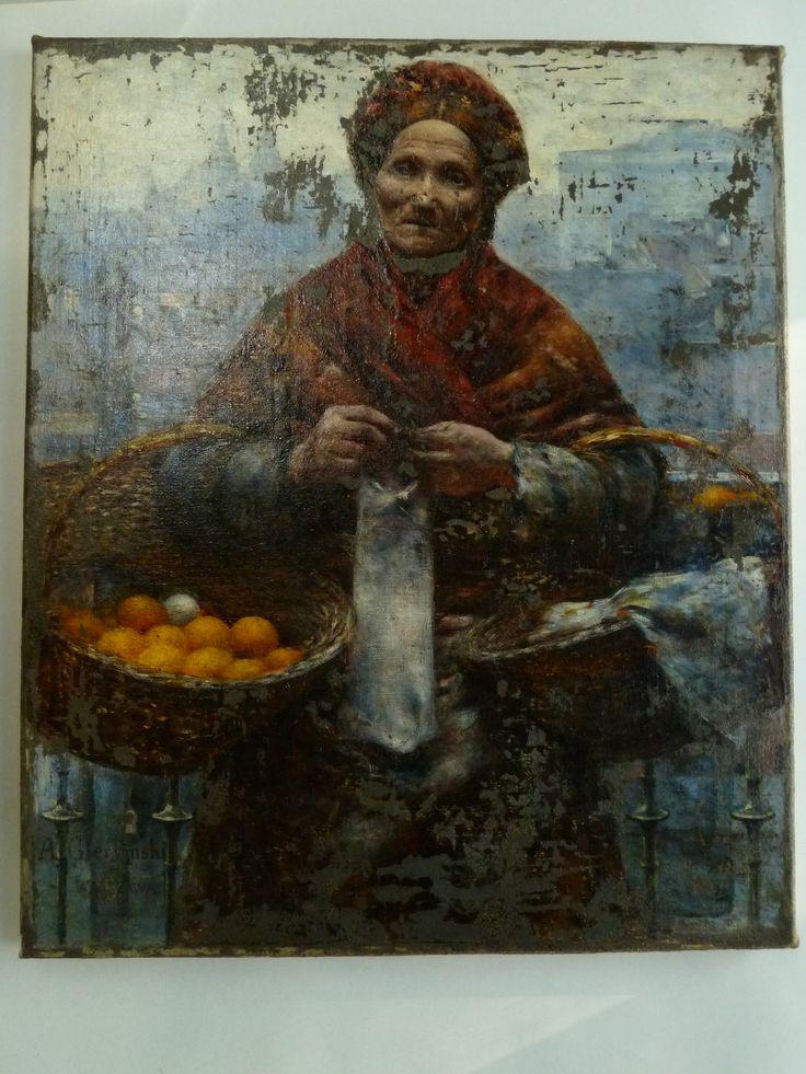 żydówka z pomarańczami | Muzeum w białych rękawiczkach