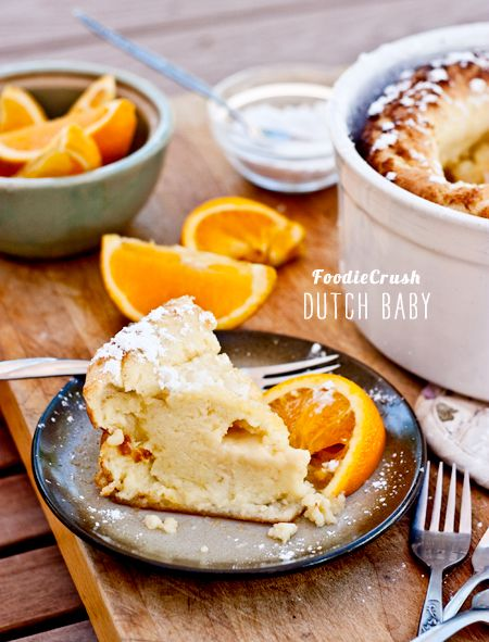 ... German Pancakes, Dutch Baby, Savory Recipe, Orange Juice, Baby Recipe