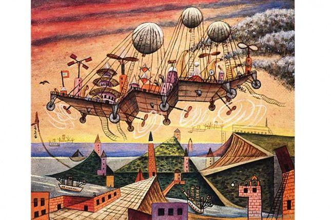 Artista plástico más fantástico que surrealista, Oscar Agustín Alejandro Schulz Solari fue uno de los representantes más singulares de la vanguardia en América Latina. Fue un estudioso de la astrología, la Cábala, el I Ching, la teosofía, la filosofía y las religiones orientales, hindúes y precolombinas. Nacido en la localidad bonaerense de San Fernando el 14 de diciembre de 1887, murió en Tigre el 9 de abril de 1963.