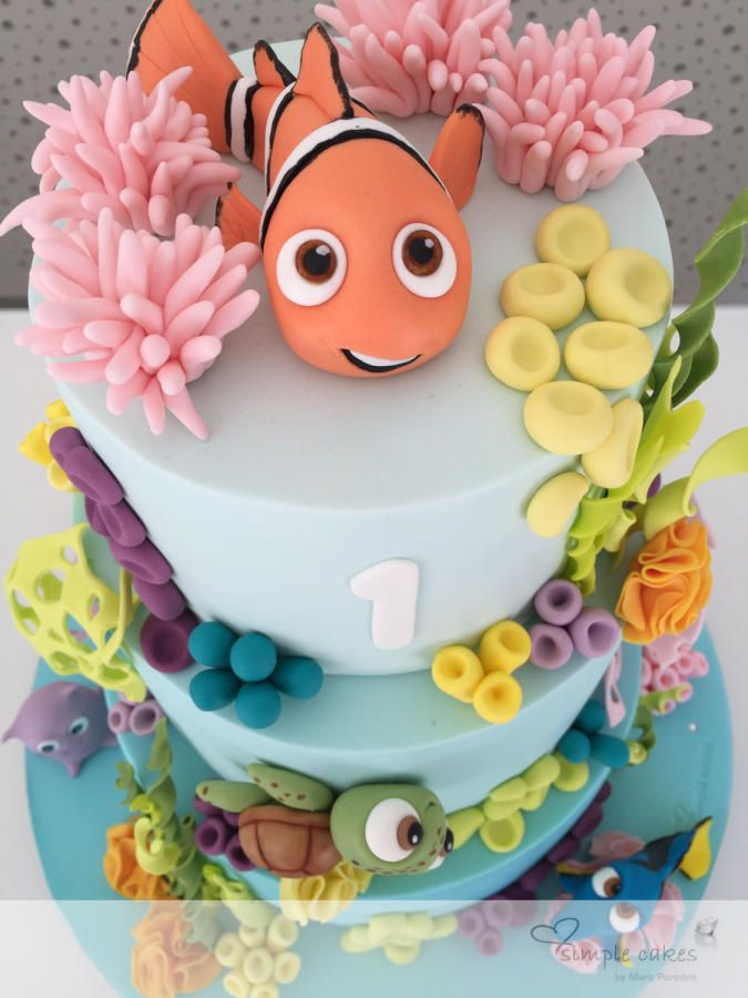 finding Nemo... - Cake by simple cakes - Mara Paredes