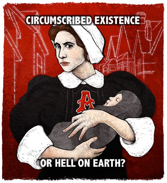 Scarlet Letter Book Cover Ideas : Mama s family meme scarlet letter hester circumscribed