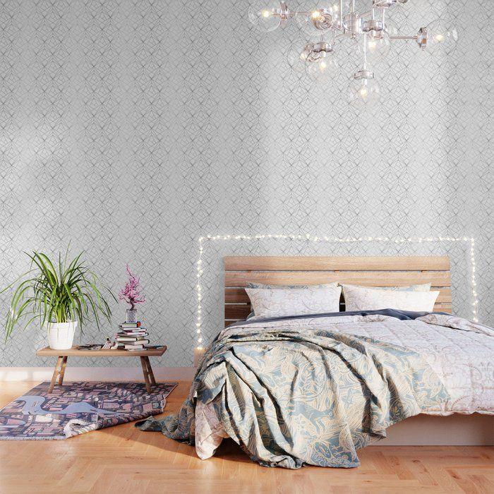 Geometric Silver Pattern Wallpaper By Victorys 2 X 4 Pink Marble Wallpaper Rose Gold Wallpaper Pattern Wallpaper