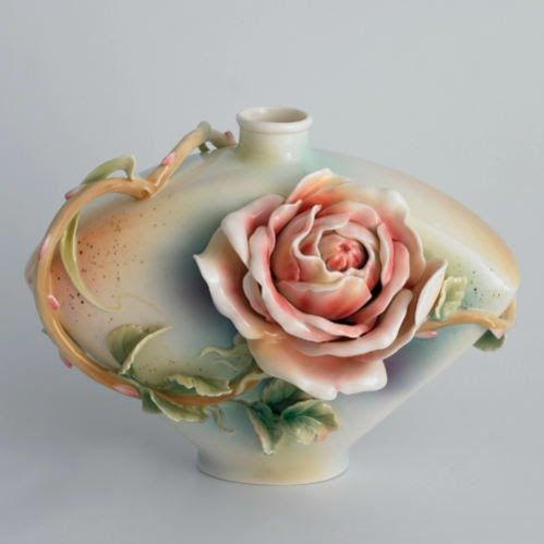 Franz Porcelain Rose of Peace