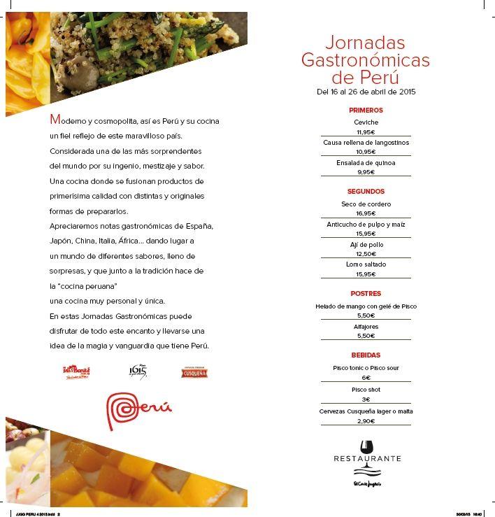 Jornada Gastronomica De Peru En El Corte Ingles Victor Gutierrez