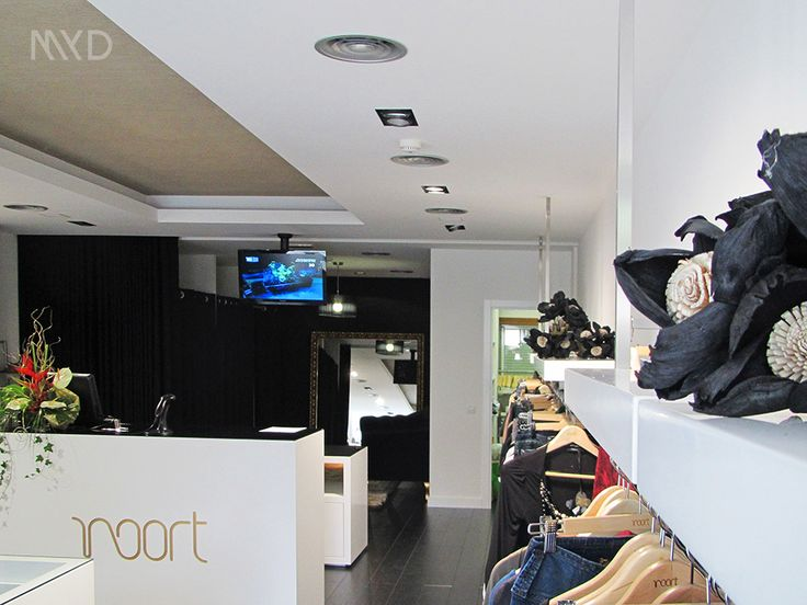 NOORT FASHION STORE Fátima . Portugal \ Interior Design \ 3D visualization \ MYD DESIGN STUDIO WWW.MYD.PT #designdeinteriores #shopdesign #designconcept #contemporary #designspaces #design #interiors #interiordesign #shop #design #fashion #charm #clothes #shoes #bags #guess #colcci #supertrash #francomina #doubleblack