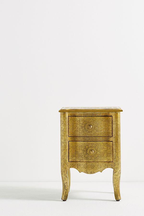 Hand Embossed Nightstand Furniture Furniture Promo Nightstand