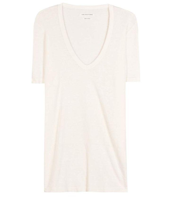 mytheresa.com - Leinenshirt Kranger ∫ Isabel Marant, Étoile : mytheresa - Luxury Fashion for Women / Designer clothing, shoes, bags