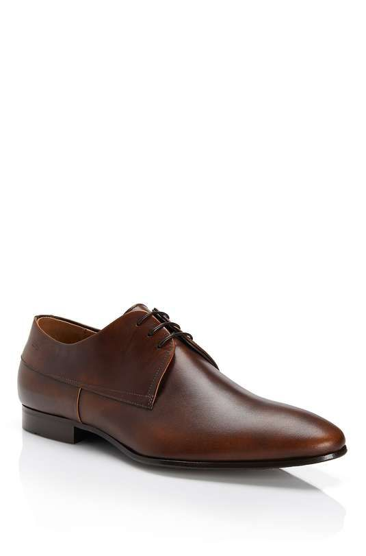 Hugo Boss | 'Modero' Italian Leather Dress Shoe | menswear essentials dress  shoes #
