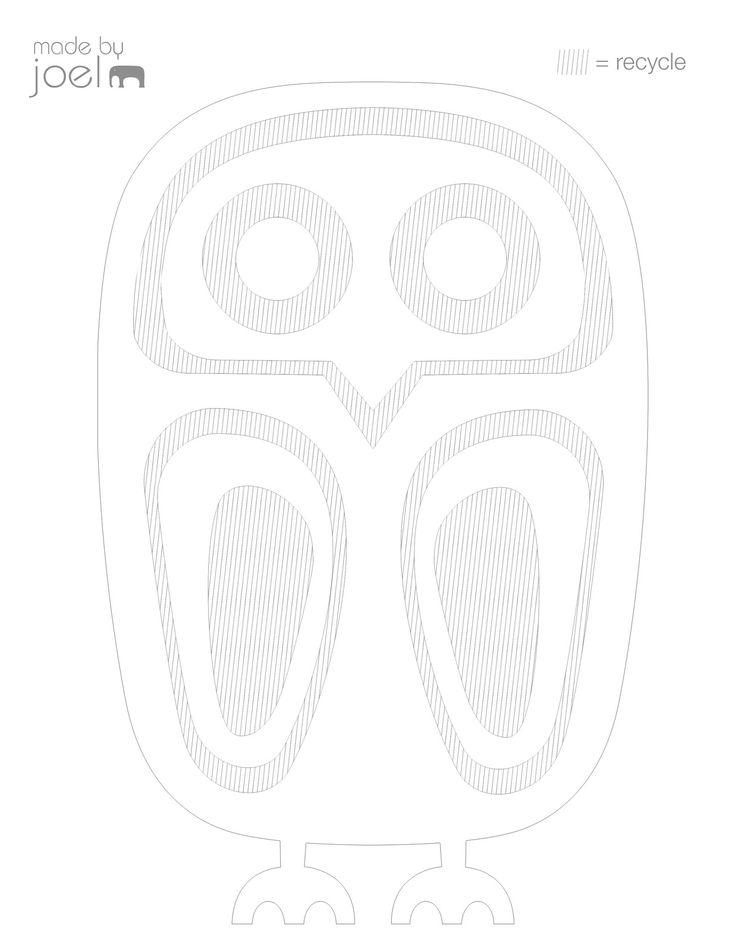 Best Diy Papir Ugler Paper Owls V Images On