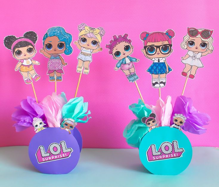 Fiesta L.O.L Surprise 1 – DIY ideas Fiesta | Party Pop – lol bday