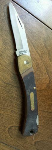 Vintage Old Timer Pocket Knives
