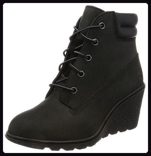 Timberland Damen Amston_Amston_Amston 6in Kurzschaft Stiefel, Schwarz (Black Nubuck), 36 EU - Stiefel für frauen (*Partner-Link)