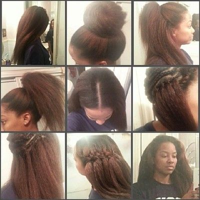 I am so in love with how she did these crochet braids and she made them look so real! www.talktresses.com