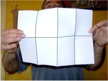 Fabriquer un petit livre format de poche.
