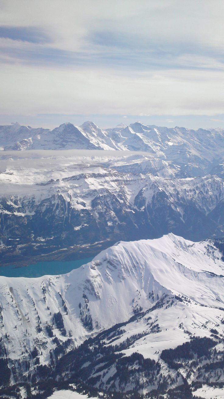 Ein Traum! Mit Eiger, Mönch, Jungfrau.