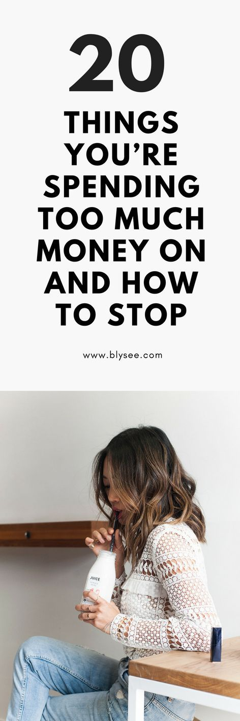 good ideas for stopping wasting money #goodtips #moneytips #moneyadvise