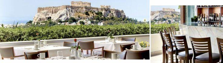 Hotel Grande Bretagne | GB Roof Garden Restaurant | Day View