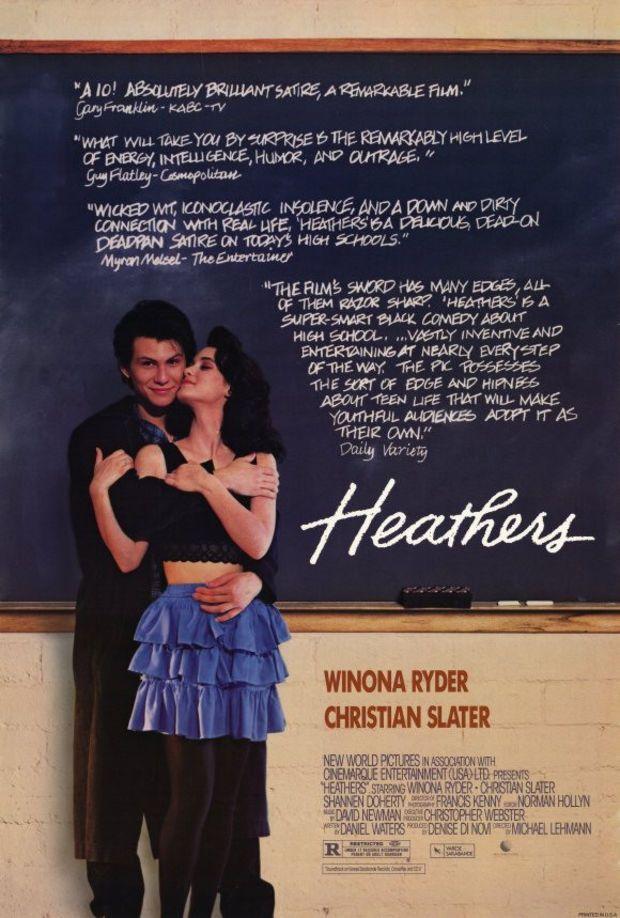 Heathers 11x17 Movie Poster (1989)