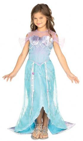 Disfraz Sirenita de Lujo (Niña)