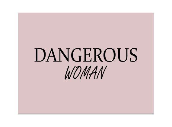 Dangerous Woman Ariana Grande Poster Ariana by DailyReginaDesigns