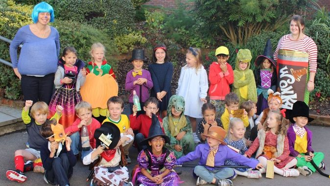 Dahlicious Dress Up Day - Roald Dahl's Marvellous Children's Charity
